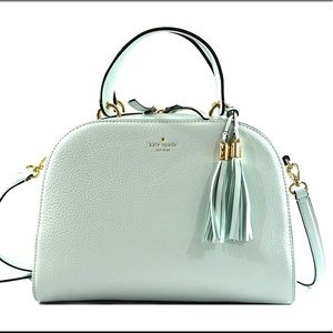 Kate Spade Pebbled Leather Satchel Crossbody